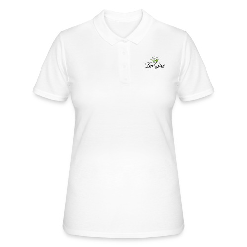 Zen Girl -Lotus Blomma - Prima Vera Design - Women's Polo Shirt