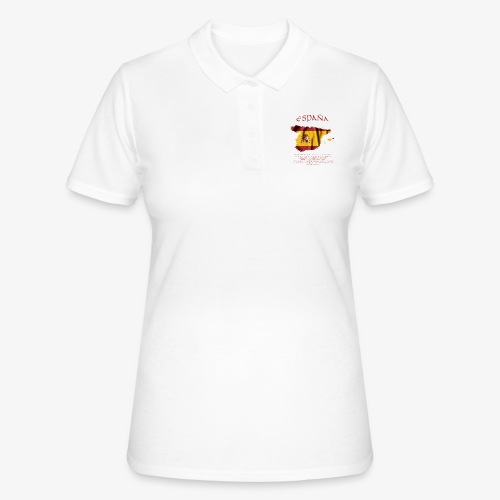 Spain Flag Bandera España - Frauen Polo Shirt