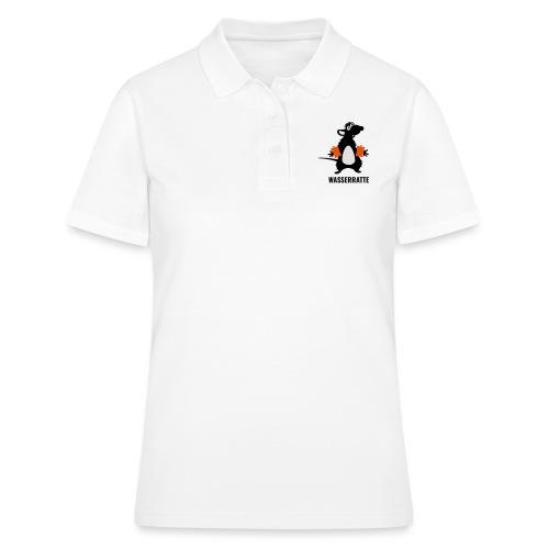Wasserratte mit Schwimmflügeln - Frauen Polo Shirt