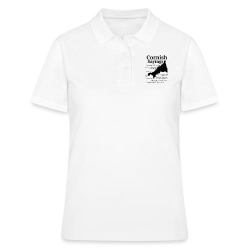 Cornish sayings - Women's Polo Shirt