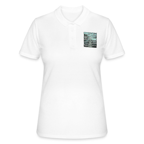 PARTY WITH INDIE ROCK SONGS - Women's Polo Shirt
