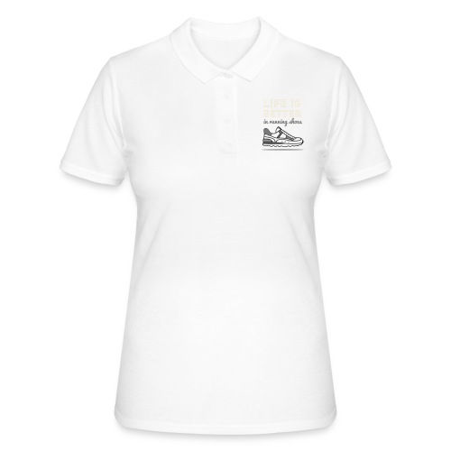 Running Shoes - Frauen Polo Shirt