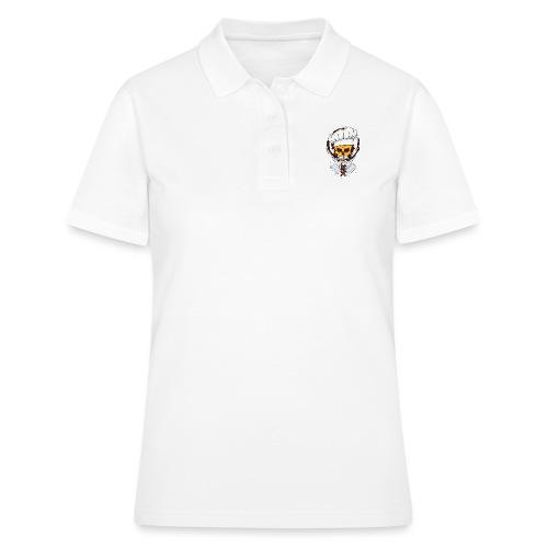 Chefkoch Totenkopf - Gekreuzte Messer - Frauen Polo Shirt