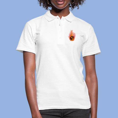 Should I stay or should I go Fire - Women's Polo Shirt