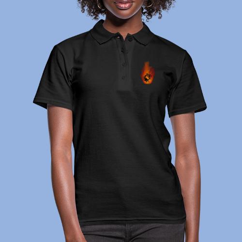 Should I stay or should I go Fire - Women's Polo Shirt