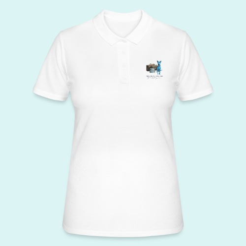 Laly Blue Big - Women's Polo Shirt