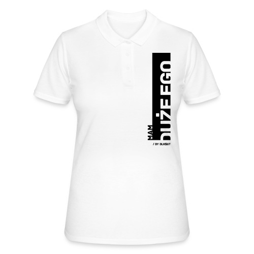 DUŻE EGO - Women's Polo Shirt
