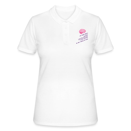 Human Brain - Women's Polo Shirt