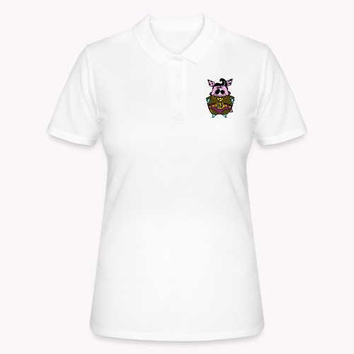 super oink col - Women's Polo Shirt