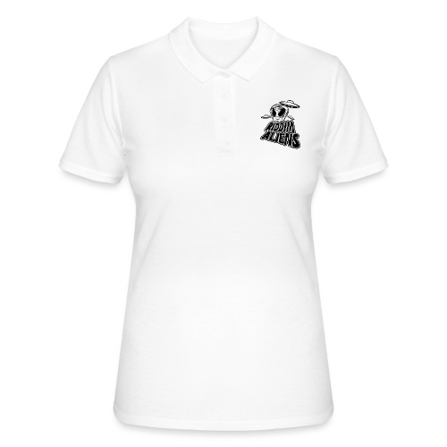 Riddim Aliens (Black Design) - Women's Polo Shirt