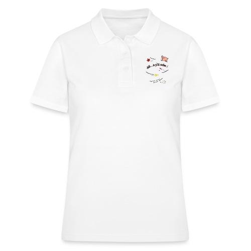 Rhoo le ptit cochon ! (version pour fond blanc) - Women's Polo Shirt