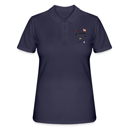 Rhoo le ptit cochon ! (version pour fond blanc) - Women's Polo Shirt