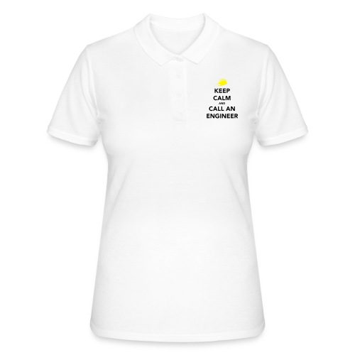 Keep Calm Engineer - Women's Polo Shirt