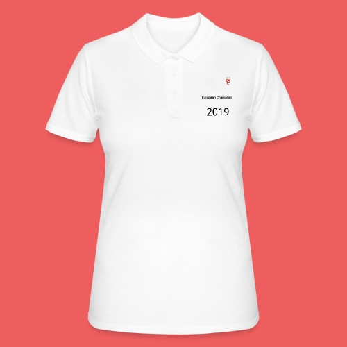 Phi european champions 2019 - Women's Polo Shirt