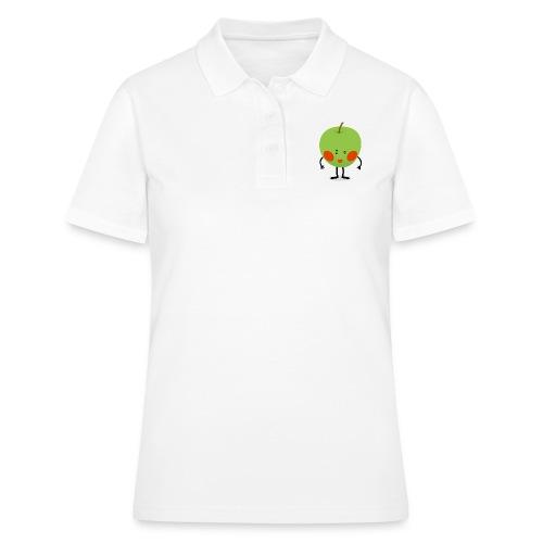 Happy Apfel - Frauen Polo Shirt