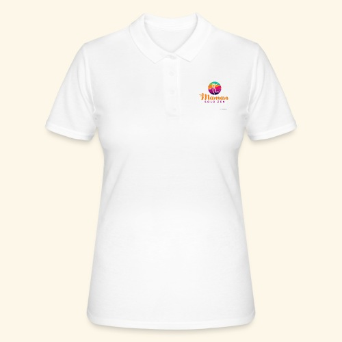 Maman solo zen Modèle 3 - Women's Polo Shirt