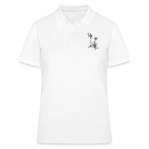 Heimtrainer Trimmdich-Rad - Frauen Polo Shirt