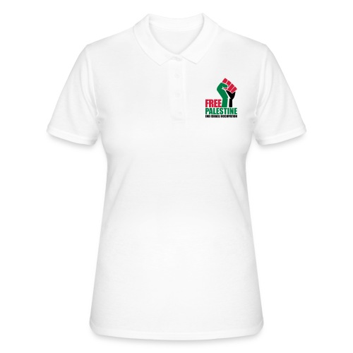 Free Palestine End Israeli Occupation - Women's Polo Shirt