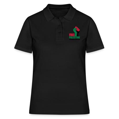 Free Palestine End Israeli Occupation - Women's Polo Shirt