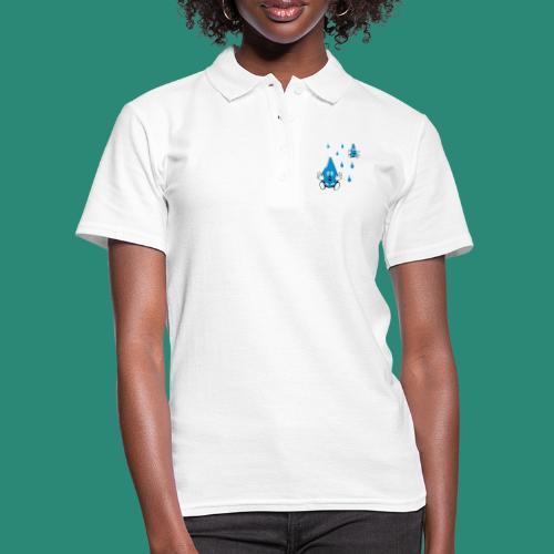 Tropfen - Frauen Polo Shirt