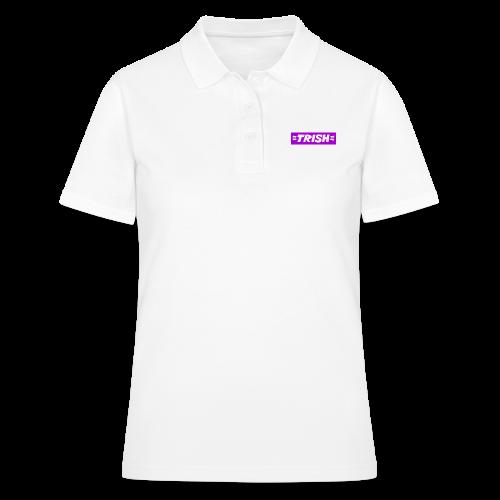 trish logo - Women's Polo Shirt