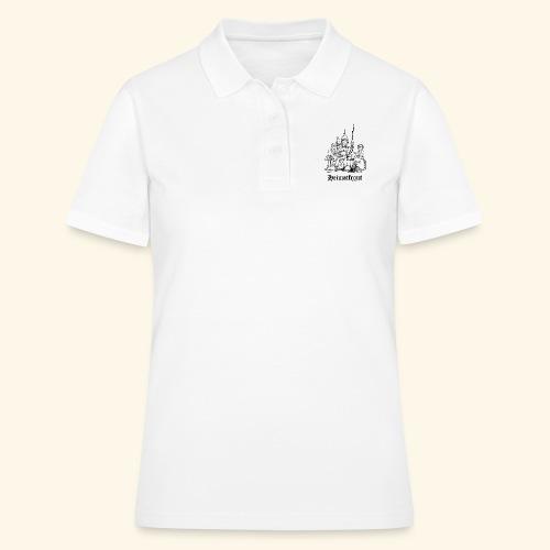 Heimatfront Mama Heimat Waffen Sohn Muttersöhnchen - Frauen Polo Shirt