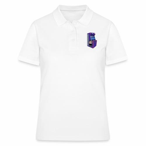 Game Booth Arcade Logo - Women's Polo Shirt