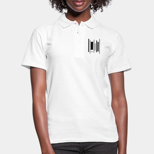 A-077 Dancing barcode - Frauen Polo Shirt