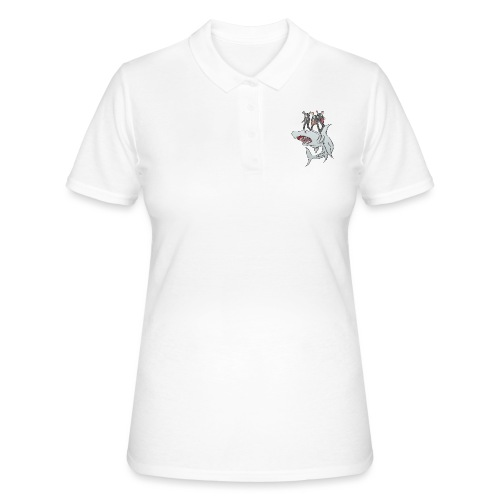 Shark Attack - Women's Polo Shirt