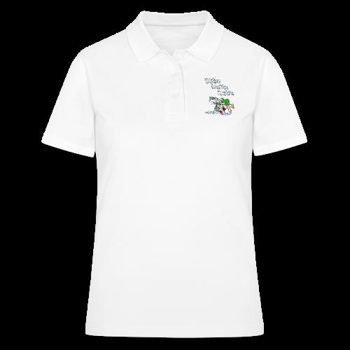 Wicked Washing Machine Cartoon and Logo - Women's Polo Shirt