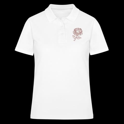 Rose aus Rosen - Frauen Polo Shirt