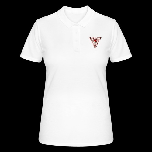 Dreieck Rose - Frauen Polo Shirt