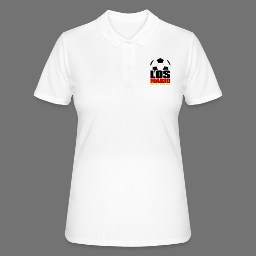 Football - Go Mario, hau moving the thing in (3c) - Women's Polo Shirt