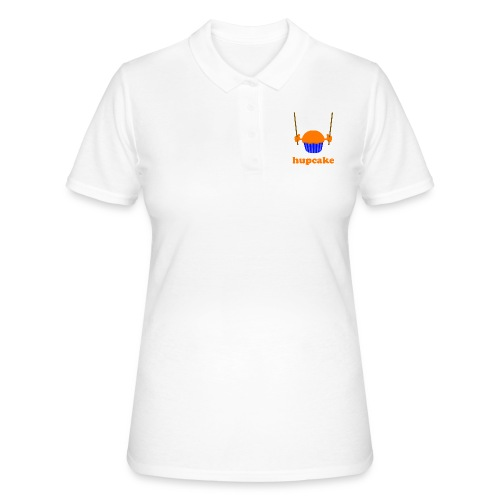 hupcake blanco (donker) - Women's Polo Shirt