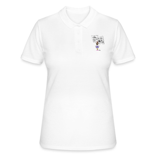 I like donuts and to go NUTS - Women's Polo Shirt