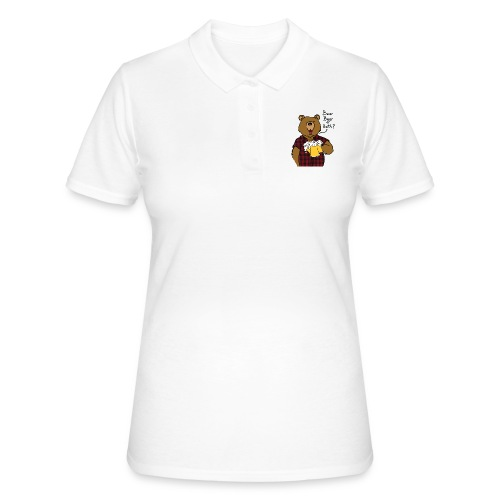 Beer and Bear - Polo Femme