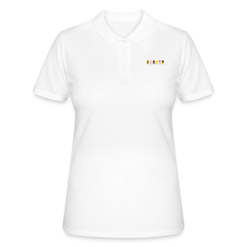 Icecream, Eis, Glace, Sommer, Sonne, Ferien, - Frauen Polo Shirt