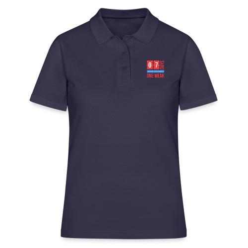 one week - Women's Polo Shirt