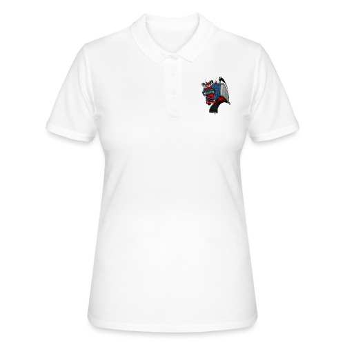 The flying skane man notext - Women's Polo Shirt