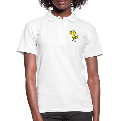 Bird Line Drawing Pixellamb - Frauen Polo Shirt