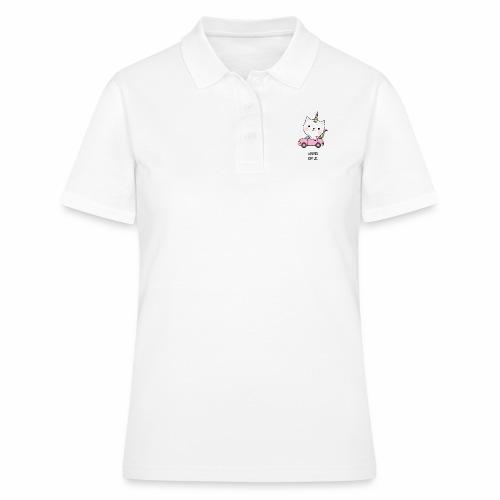 Wüdes Katzl - Frauen Polo Shirt