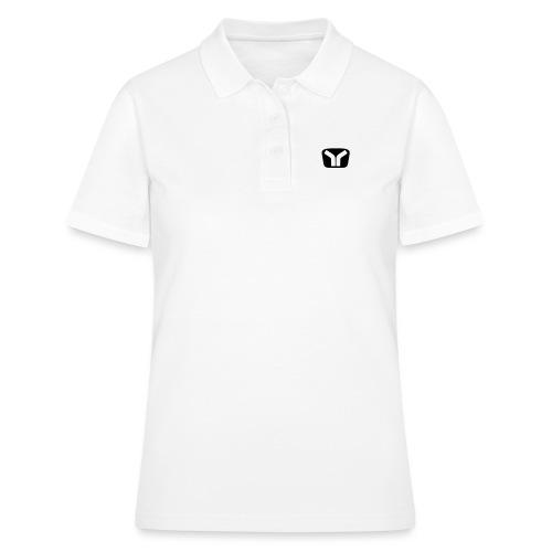 Yugo Logo Black-White Design - Women's Polo Shirt