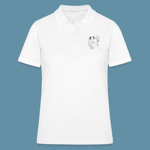 Samurai copia jpg - Women's Polo Shirt