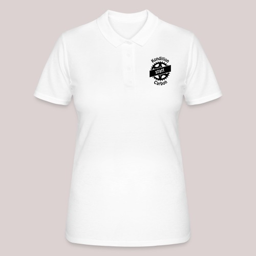 04-30-Kondition-Carbon - Frauen Polo Shirt