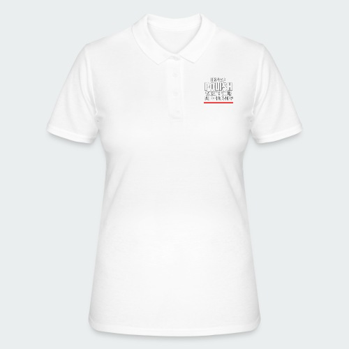 Męska Koszulka Premium I SPEAK POLISH - Women's Polo Shirt