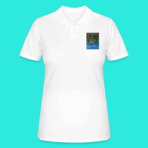 Waterdragons_in_the_thunder- - Women's Polo Shirt