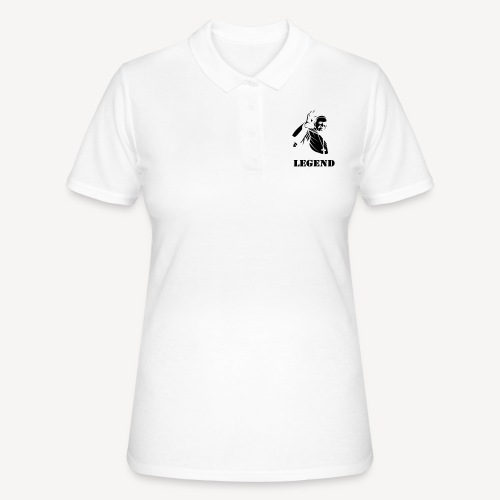 Pope Francis - Legend - Women's Polo Shirt