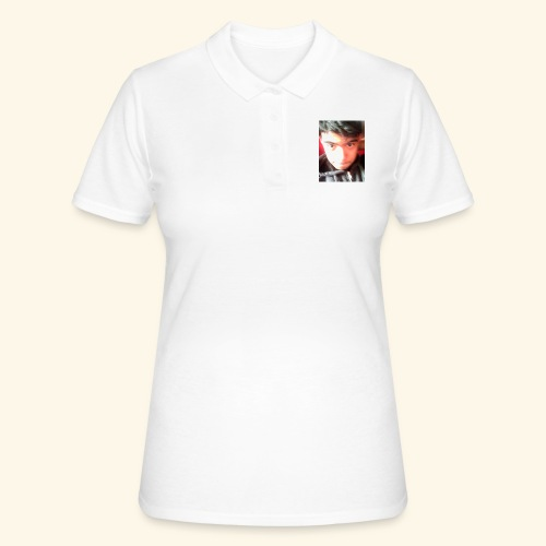 Diseño original Con mi cara :3 - Camiseta polo mujer