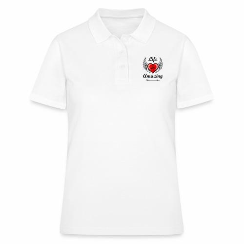 Life is Amazing - Frauen Polo Shirt