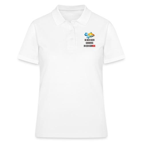 Ik ben geen goudvis in een KOMOK - Women's Polo Shirt
